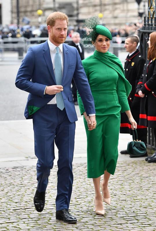 V loňském roce se Meghan Markle a princ Harry oslav Dne Commonwealthu ještě zúčastnili.