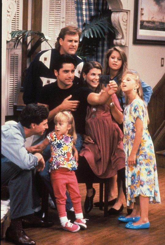 Stamos může čerpat ze zkušeností s dětmi v seriálu Plný dům.