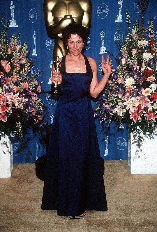 Prvního Oscara Frances získala v roce 1997.