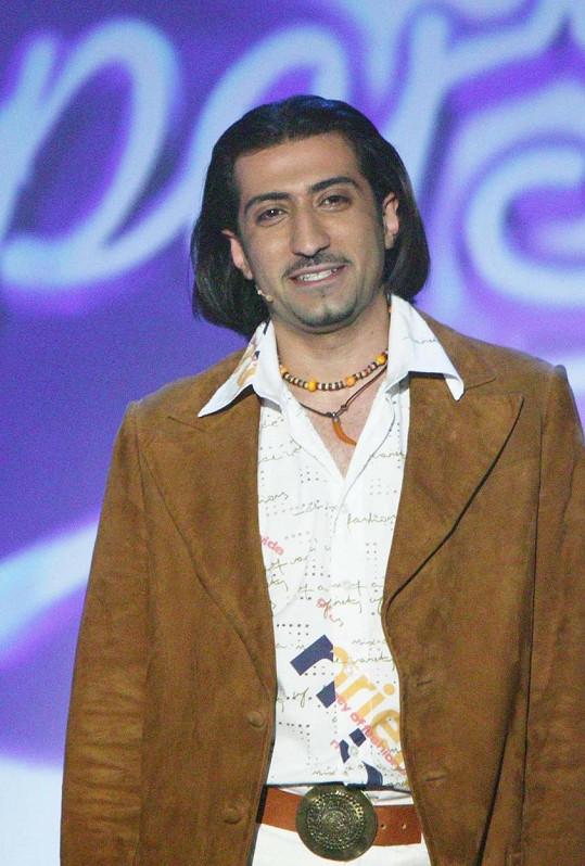 Ali Amiri byl ve druhé řadě SuperStar v roce 2005.
