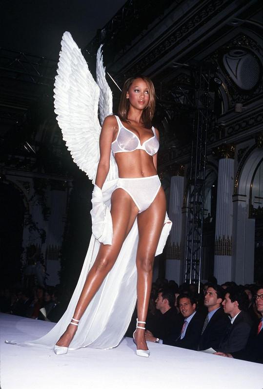 Tyra byla andílkem Victoria's Secret.