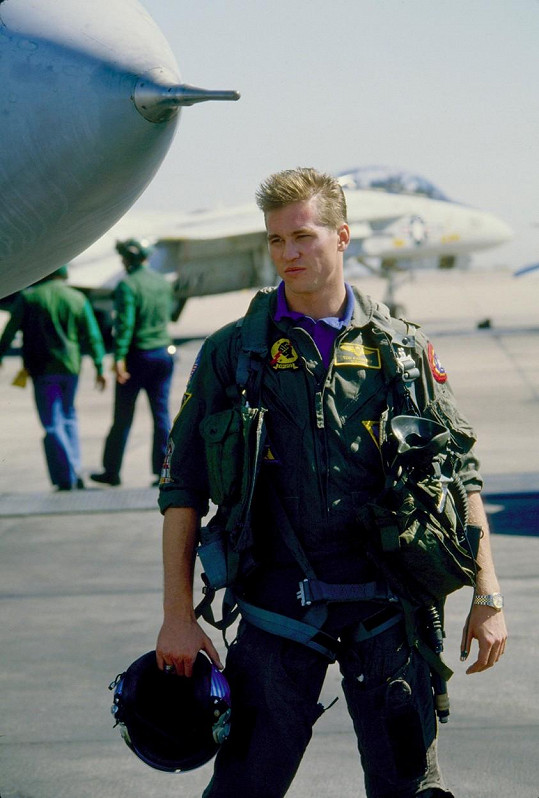 Val Kilmer ve filmu Top Gun (1986)