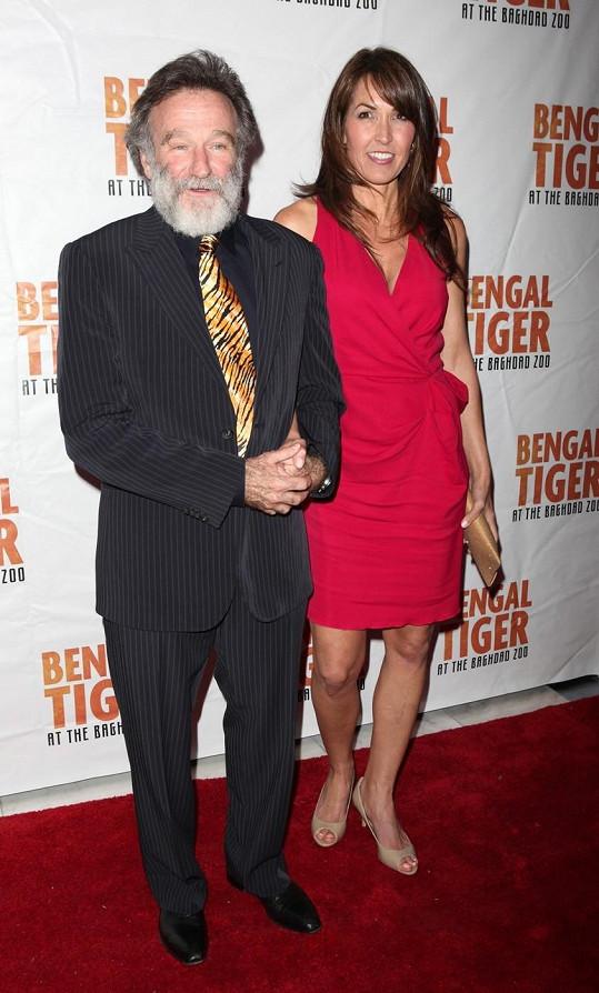 Susan Schneider byla opravdu reprezentativní manželkou.