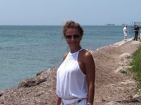 Yvetta Blanarovičová si užívala chvilek volna v USA.