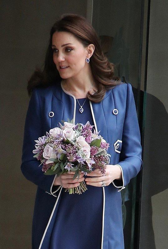 Kate se už chystá na další porod.
