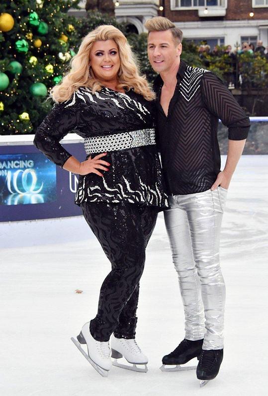 S Mattem Eversem bruslila v pořadu Dancing on Ice.