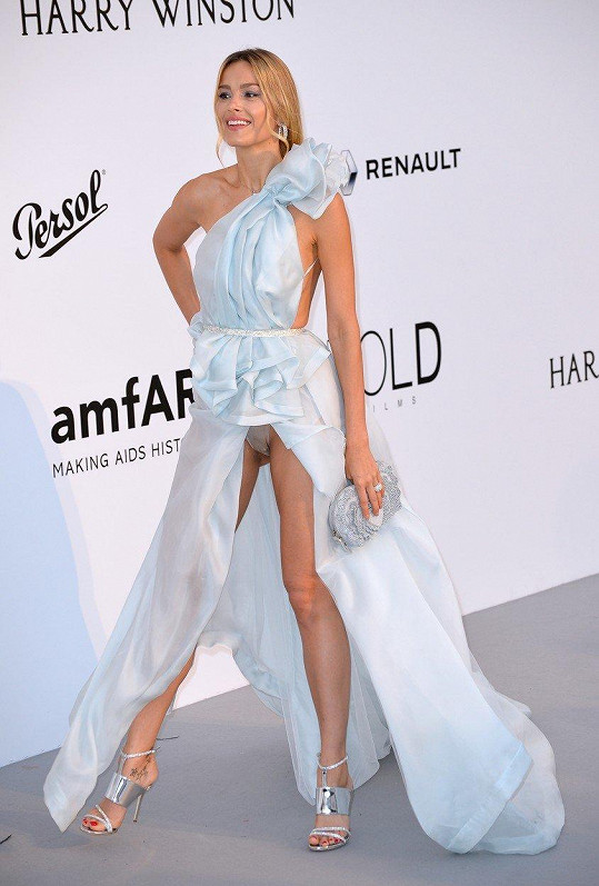 Cannes 2017 bylo pro Petru akcí odhalených kalhotek.
