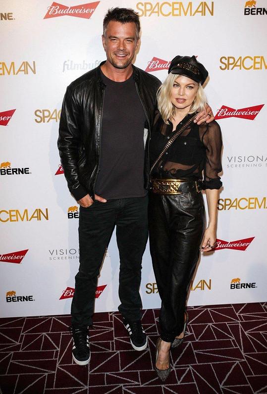 Fergie s manželem Joshem Duhamelem. Rozvod prý byl jeho nápad.
