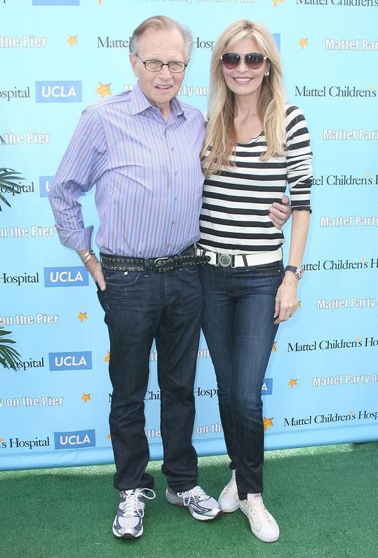 Larry King s manželkou Shawn Southwick