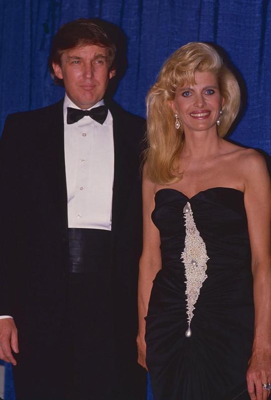 Donald Trump se svou bývalou manželkou Ivanou, která pochází z Česka. Už tehdy si uměl vybrat.