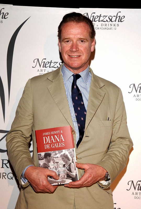 O milostném vztahu s Dianou napsal i knihu.