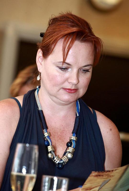 Kamila Špráchalová zase trošku přibrala.