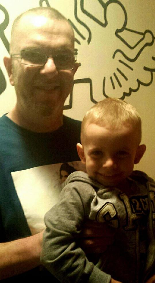 Richard Müller se synem Marcusem