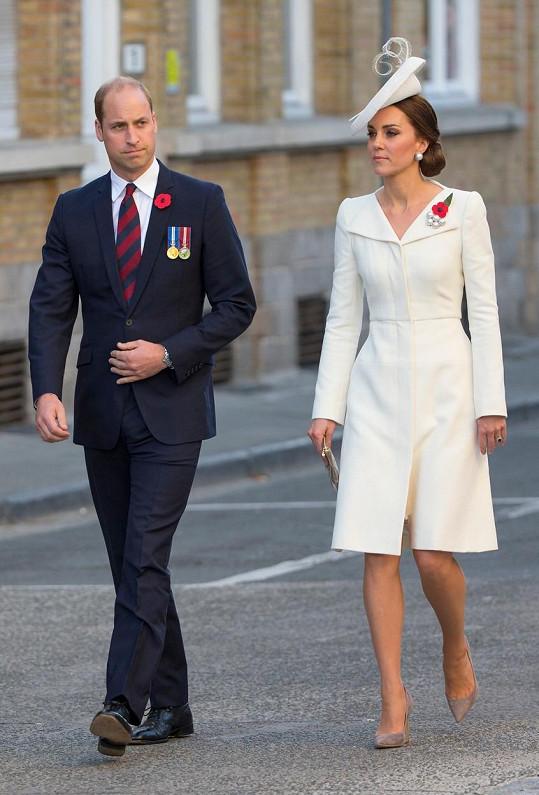 William a Kate v Belgii