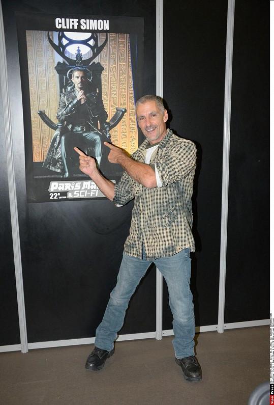 Simonovou nejznámější rolí byl záporák Ba'al v Hvězdné bráně.