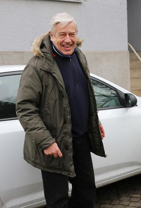 Zdeněk Maryška je šťastný senior.