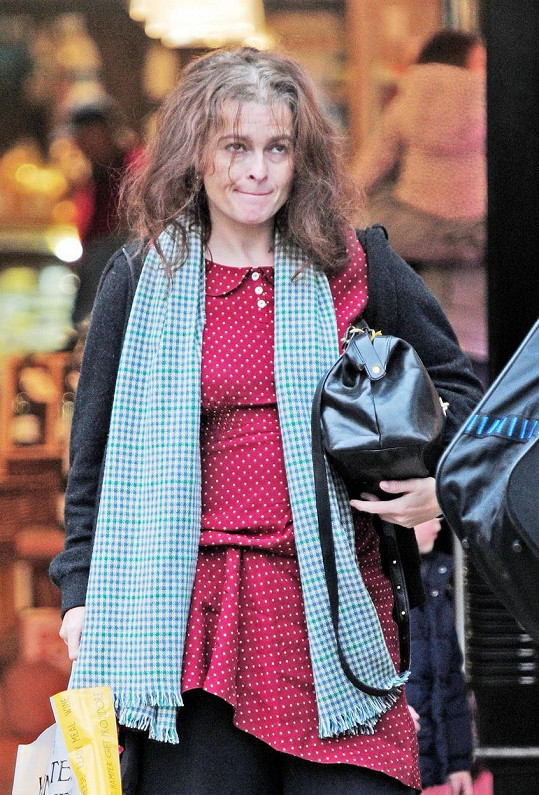 Helena Bonham Carter neměla svůj den.