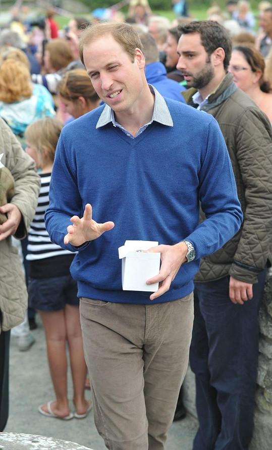 Princ William dokázal smířit obě znesvářené strany.