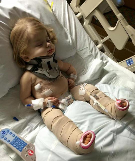 Zoe už si v životě s touto nemocí užila své.