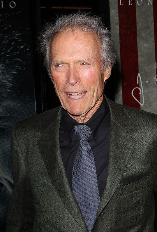 I Clint Eastwood se stal otcem sedmkrát.