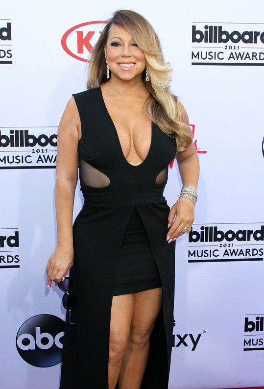 Mariah Carey v celkem lichotivém modelu