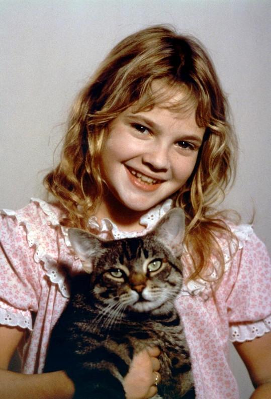 Malá Drew Barrymore