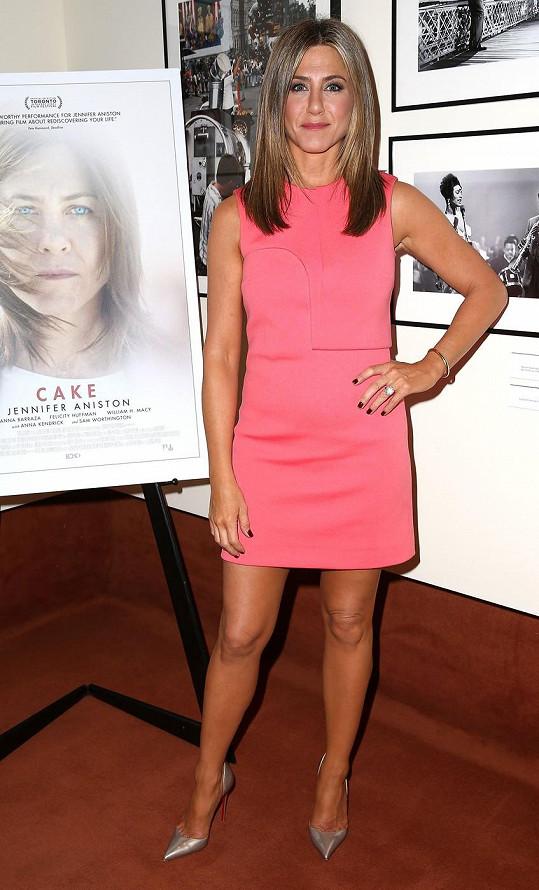 Jennifer Aniston prý přibrala.