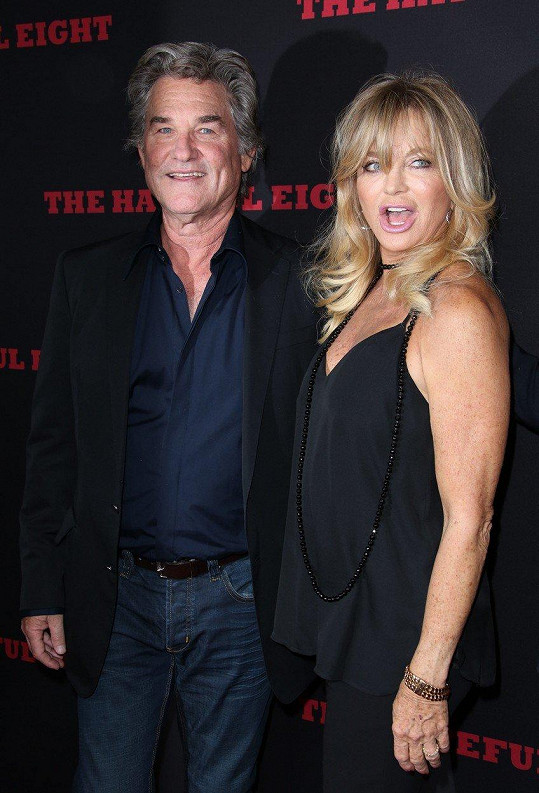 Goldie Hawn a Kurt Russell se poznali před 35 lety.