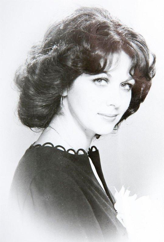 Saskia Burešová na počátku kariéry