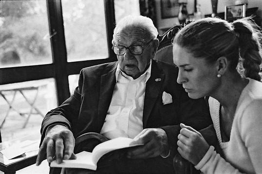 Setkání Nicolase Wintona s Olgou Menzelovou.