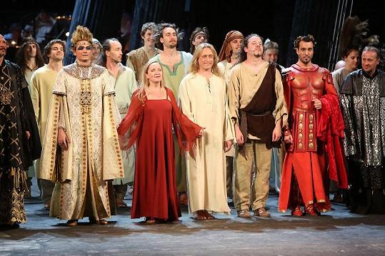 Jubilejní představení Jesus Christ Superstar.