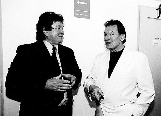 Pavel Novák s Karlem Gottem