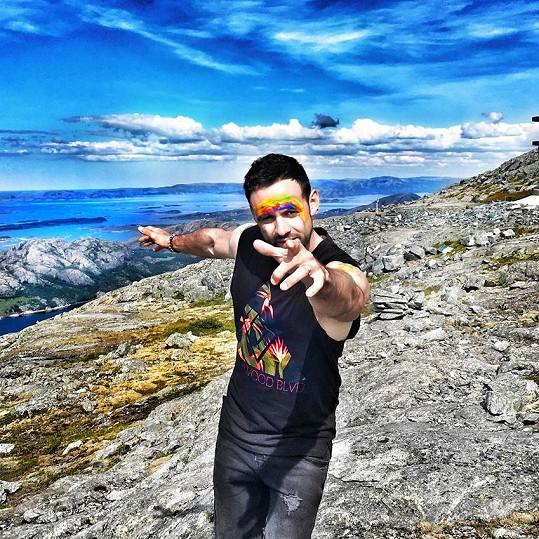 Michael Foret v Norsku natočil klip k singlu ROCKSTAR.