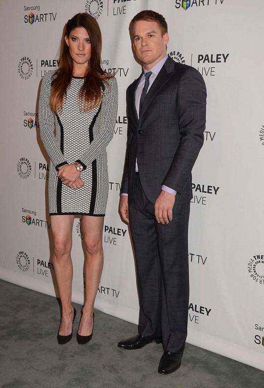 S exmanželkou Jennifer Carpenter si zahráli sourozence v seriálu Dexter.