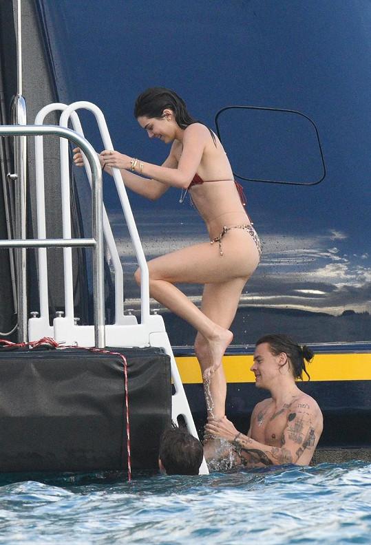 Kendall Jenner se nelibě vyjádřila o Harrym Stylesovi.