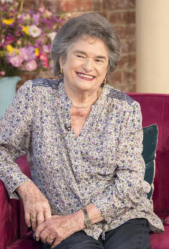 Sheila Vogel-Coupe v televizi promluvila jako nejstarší žena provozující prostituci v Anglie.
