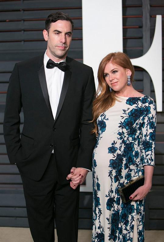 Herecký pár se brzy dočká třetího dítěte.