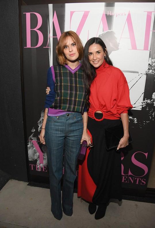 S matkou Demi Moore mají hodně společného.