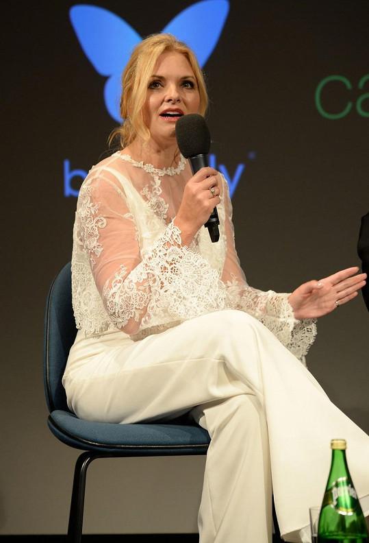 Gina Nelthorpe-Cowne byla její agentkou, ale také kamarádkou.