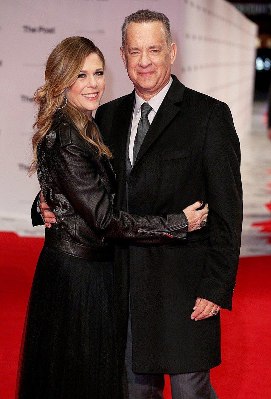 Rita Wilson a Tom Hanks