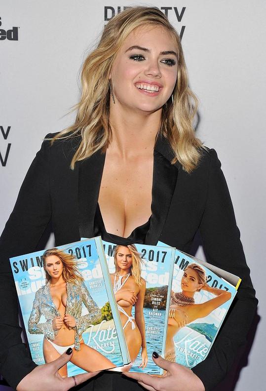 Upton rovnou ve třech provedeních čerstvého vydání Sports Illustrated