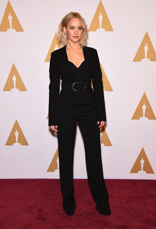Jennifer Lawrence je nominována už počtvrté.