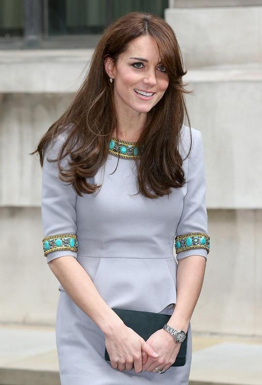 Takhle vévodkyně vypadala v listopadu.