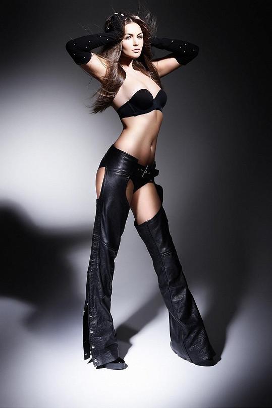 Tereza Řehořová má dokonalé tělo.