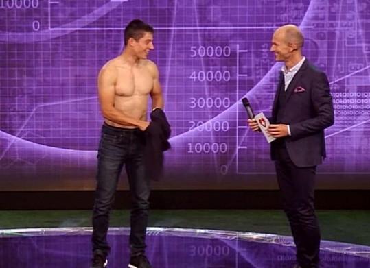 Jiří Prskavec v novém pořadu Zdravotní test národa ukáže sexy tělo.