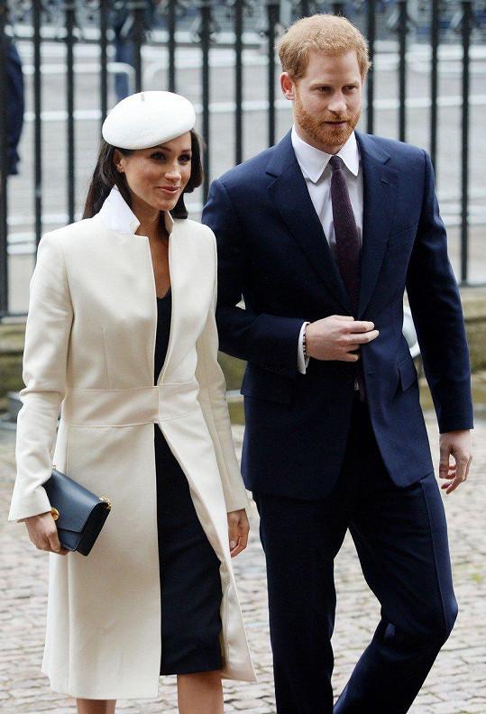Harry se svou budoucí manželkou Meghan