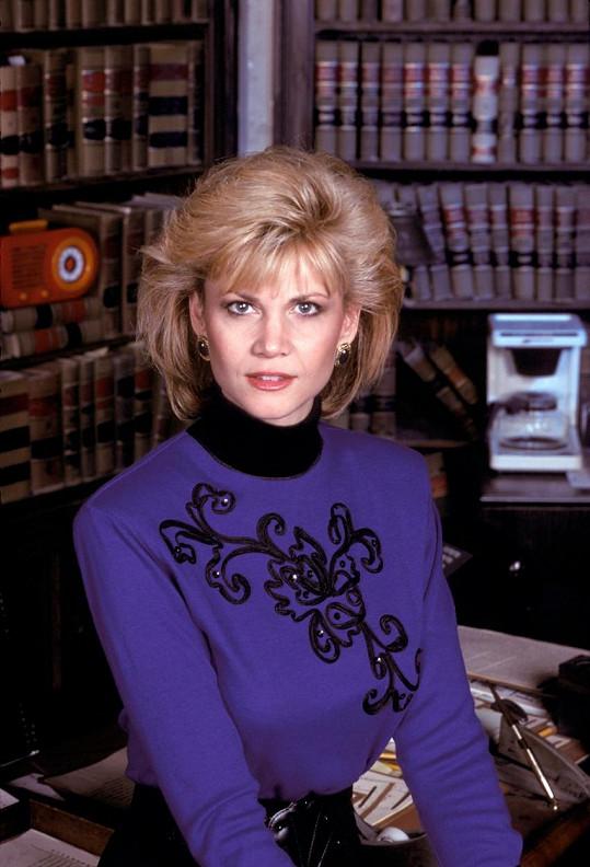 Markie Post se nejvíce proslavila rolí v seriálu z právnického prostředí Night Court.