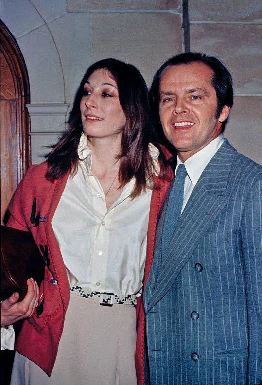 Anjelica Huston a Jack Nicholson tvořili pár 17 let.