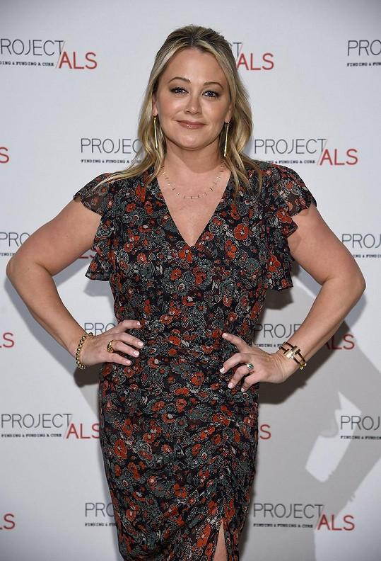 Christine Taylor ztvárnila přítelkyni Rosse, hodnou a naivní Bonnie.