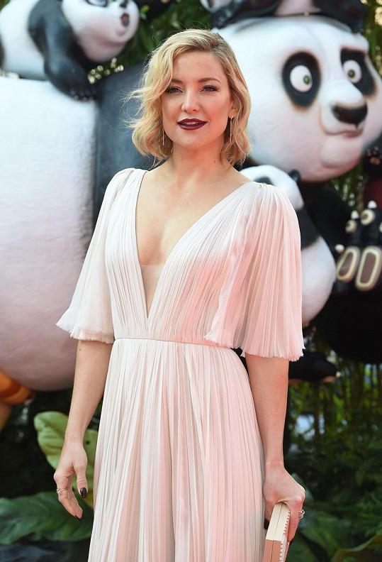 Kate Hudson na premiéře filmu Kung Fu panda 3